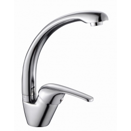 Kitchen Faucet with Fused Spout