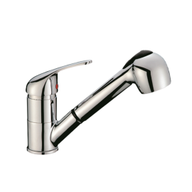 Kitchen Faucet  With Shower 2 Positions